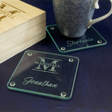Family drinks coaster set
