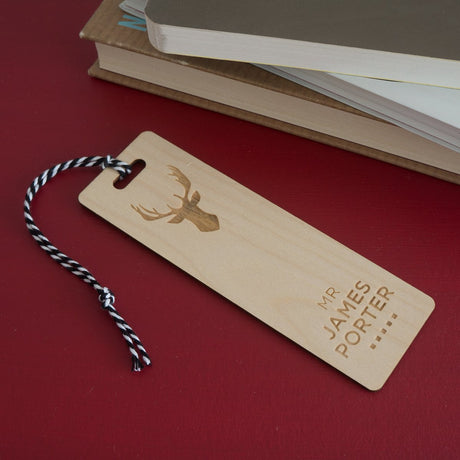Personalised bookmark gifts Belvedere Collections