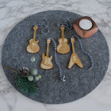 Guitar hanging decorations
