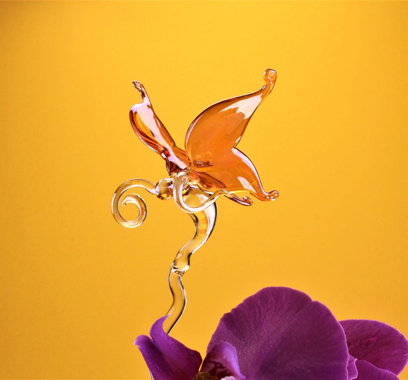 Orchideen Stab farbig , Schmetterling