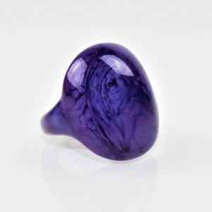 "Ring ""Madame"" Royal blau opak"