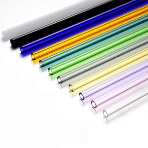 Eco-Vitrum Straight Glass Straws