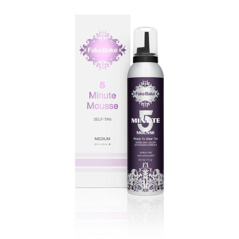 Fake Bake 5 Minute Mousse Self-Tan, 207ml