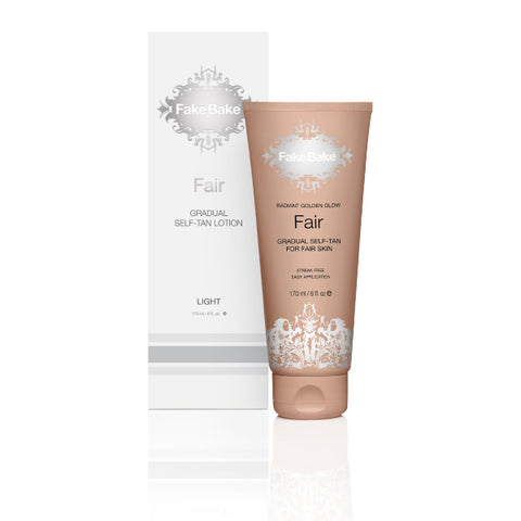 Fake Bake Fair Gradual Self-Tan Lotion, 177ml