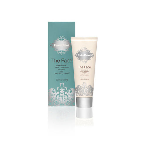 Fake Bake The Face Anti-Ageing Self-Tan Lotion with Matrixyl-3000, 60ml
