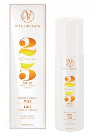 Vita Liberata Neroli & Argan Milk Sun Protection SPF25 100ml