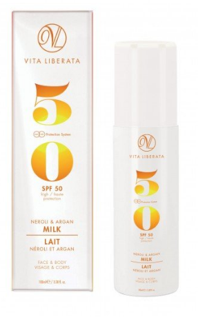 Vita Liberata Neroli & Argan Milk Sun Protection SPF50 100ml