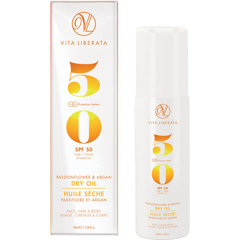 Vita Liberata Passionflower & Argan Dry Oil SPF50 100ml