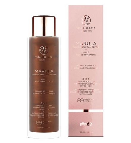 Vita Liberata Marula Dry Oil Self Tan SPF 50 100ml