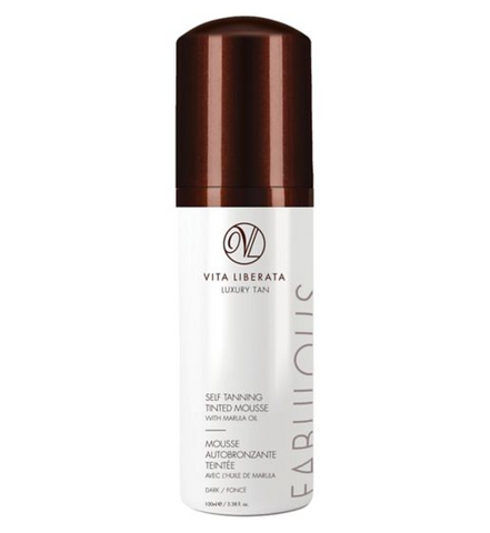 Vita Liberata Fabulous Self Tanning Tinted Mousse – Dark with Marula 100ml