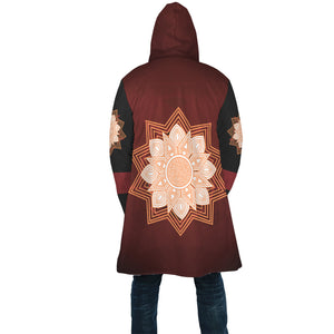 [manteau-cape-fairy-mandala-dos] - Planet Zen
