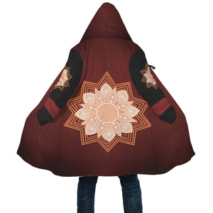 [manteau-cape-fairy-mandala-déployé] - Planet Zen