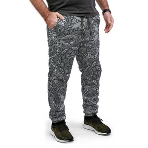 Pantalon Jogging Black Mandala - Planet Zen