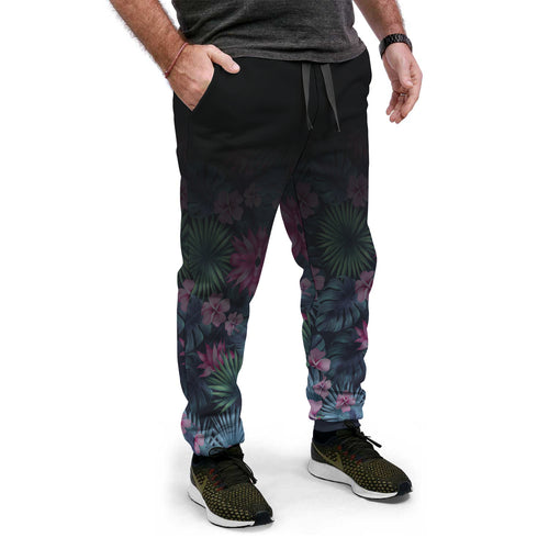 Pantalon Jogging Tropical Flowers - Planet Zen