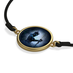 [bracelet-corde-zodiaque-verseau-or] - Planet Zen