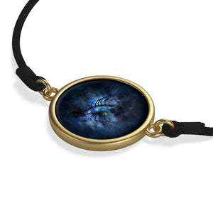 [bracelet-corde-zodiaque-cancer-or] - Planet Zen