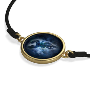 [bracelet-corde-zodiaque-scorpion-couleur-or] - Planet Zen