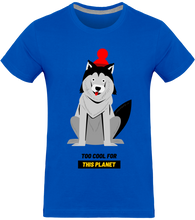 T-shirt Homme Dog Too Cool for this Planet