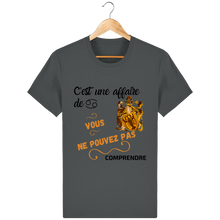 Tee Shirt Zodiaque Cancer Coton Bio
