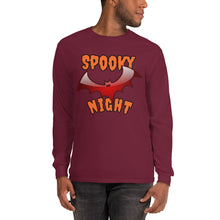 T-Shirt Spooky Night bordeaux