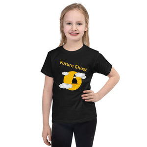 T-shirt Enfant Future Ghost noir