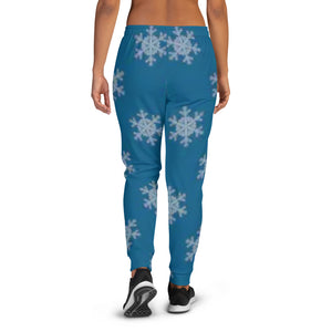 [pantalon-jogging-femme-flocons-de-neige-dos] - Planet Zen