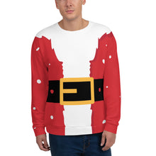 [sweatshirt-pere-noel-collection-hiver-devant] - Planet Zen