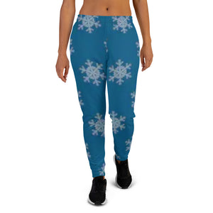 [pantalon-jogging-femme-flocons-de-neige-collection-hiver-2019] - Planet Zen