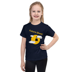 T-shirt Enfant Future Ghost marine