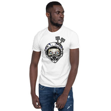 T-shirt Homme Awesome Helmet blanc
