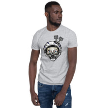 T-shirt Homme Awesome Helmet gris sport