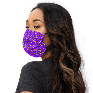 Masque Facial Scary Purple