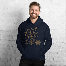 [sweat-a-capuche-marine-let-it-snow] - Planet Zen