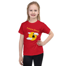 T-shirt Enfant Future Ghost rouge