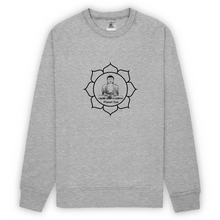 [sweat-shirt-gris-lotus] - Planet Zen