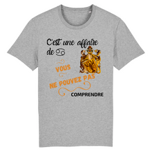 [t-shirt-gris-cest-une-affaire-de-cancer] - Planet Zen