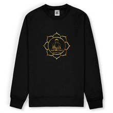 [sweat-shirt-noir-lotus] - Planet Zen
