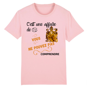 [t-shirt-rose-cest-une-affaire-de-cancer] - Planet Zen