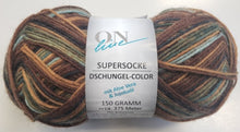 "Supersocke 6 ply - ""Dschungel Color"""