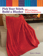 """Pick Your Stitch, Build a Blanket"""