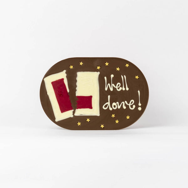 Chocogram - driving test pass choclate gift