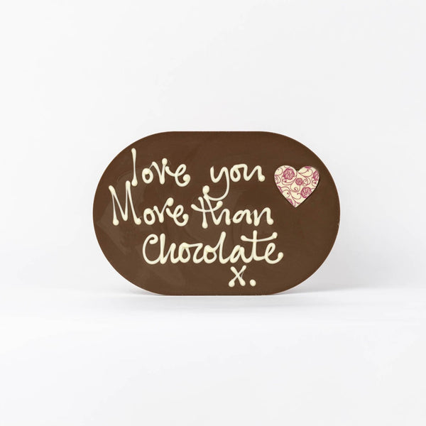 Chocogram - Love you more than chocolate