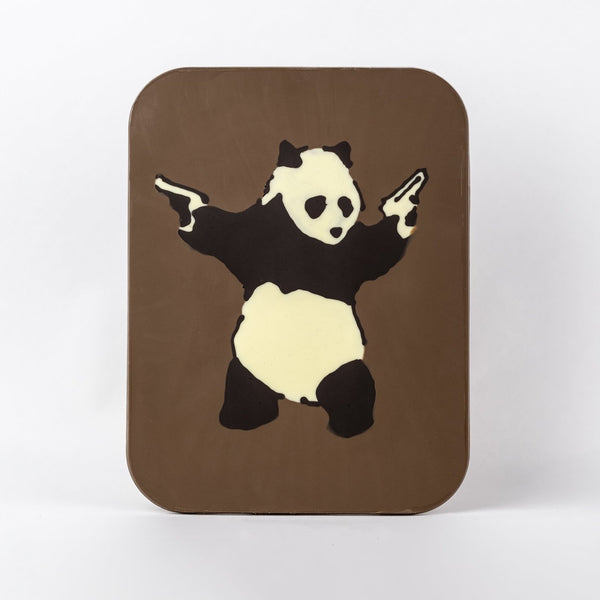 Giant Art Slab - Banksy Panda