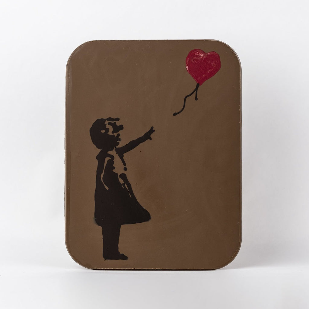 Giant Art Slab - Girl with Red Balloon, Banksy