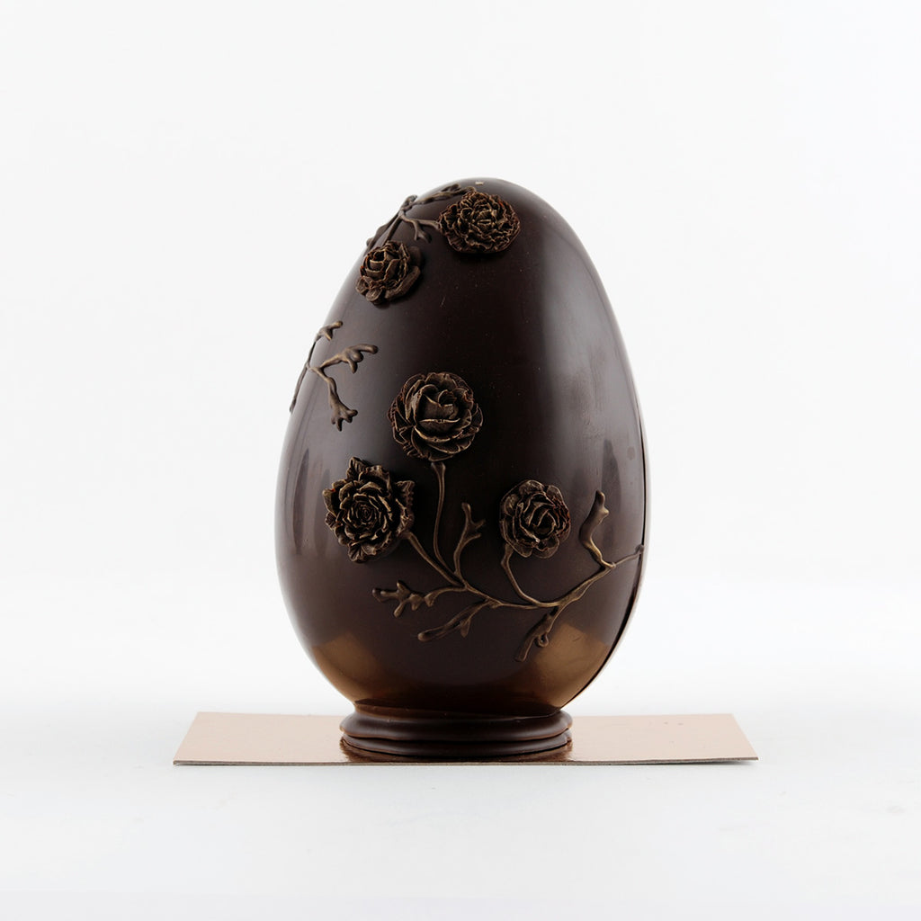 Vegan Easter Egg - flowers