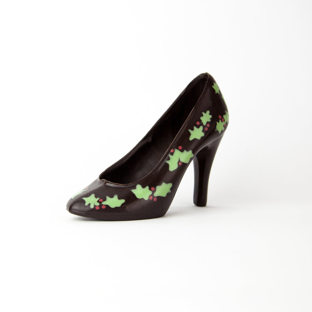 Christmas Holly Shoe