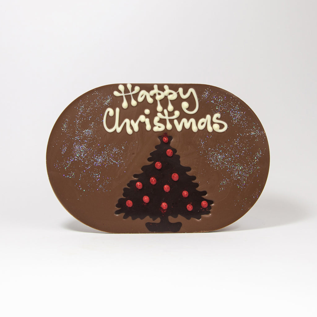 Christmas Tree Chocogram