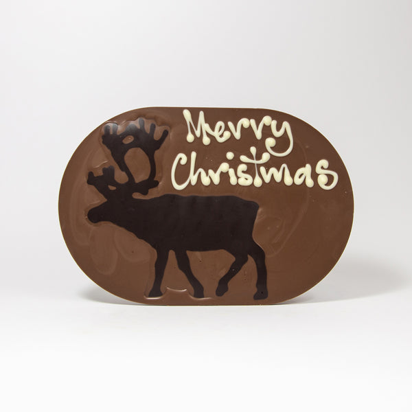 Christmas Stag Chocogram