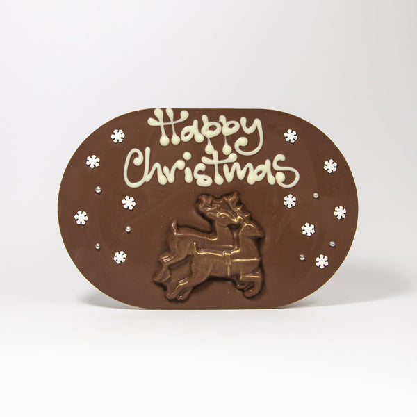 Christmas Reindeers Chocogram