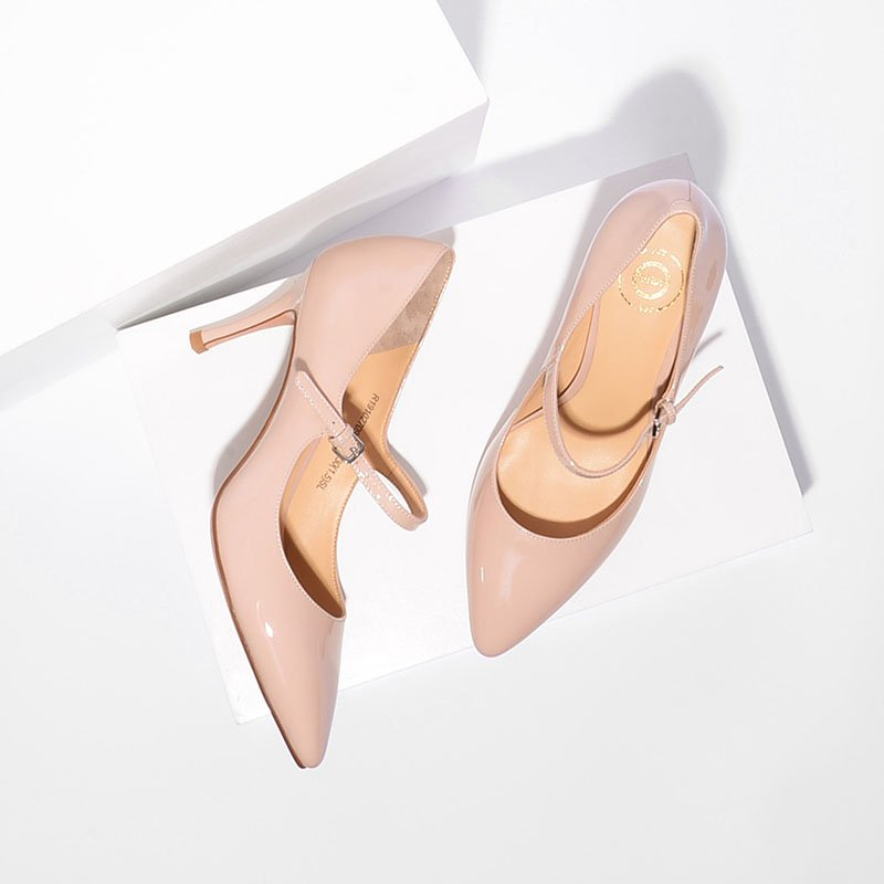 Women's Classical Pointed Heads High Heels Thin Shoes